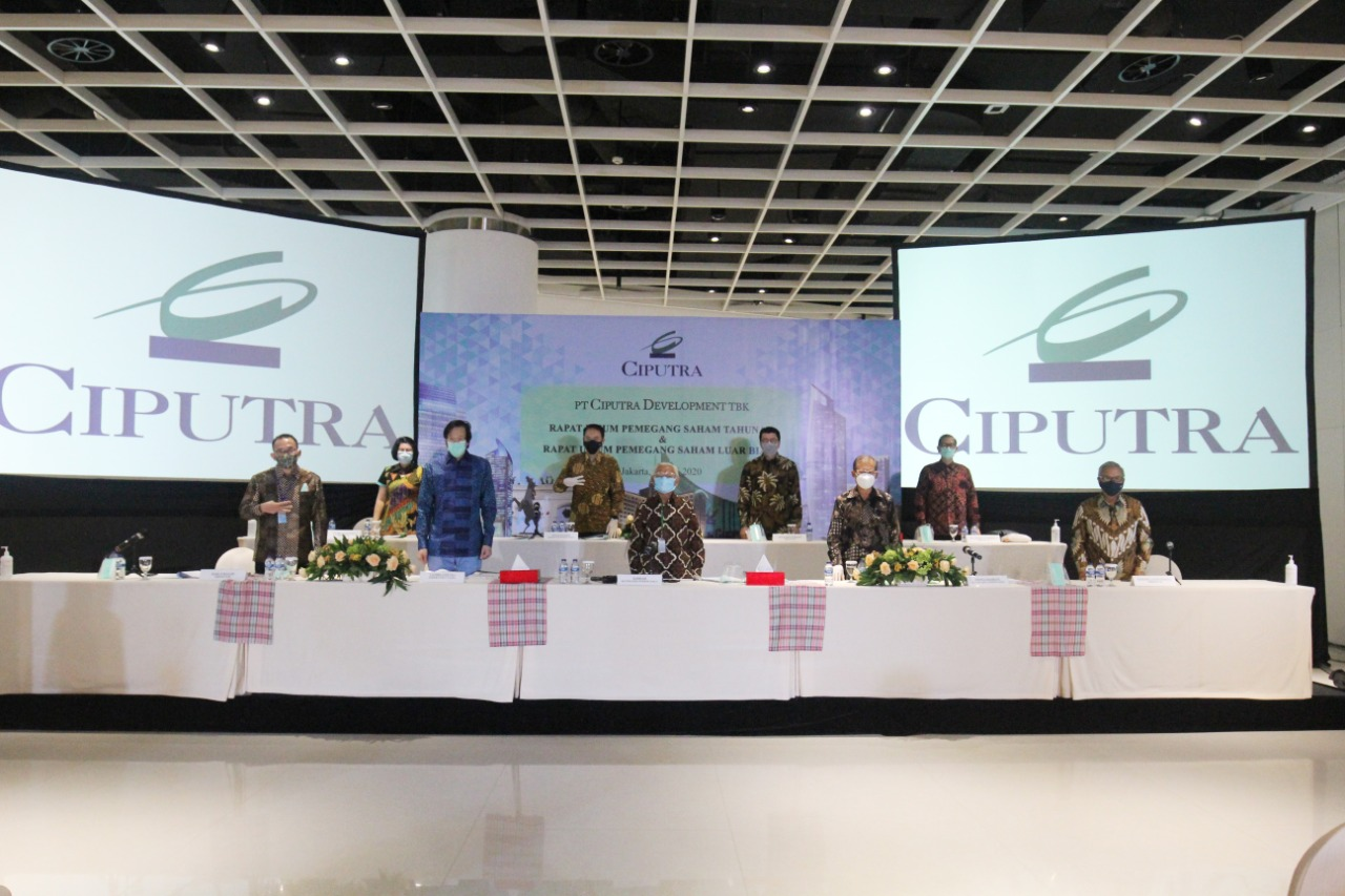 PT Ciputra Development Tbk Distributes Dividend of IDR148.3 Billion